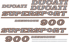 Ducati 900SS Decal Sticker set