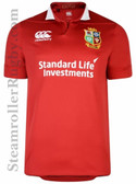 CCC British & Irish Lions Vaposhield Match Day Pro Jersey, Red