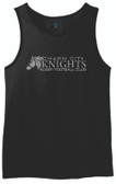 Charm City Knights Men's-Cut Tank Top, Black