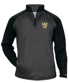 Rochester Aardvarks Tonal Performance Fleece Pullover, Carbon/Black