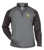Rochester Aardvarks Tonal Performance Fleece Pullover, Steel Heather/Graphite