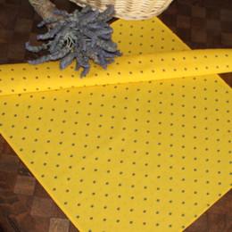 Calissons - Yellow / Blue  Serviette Napkins