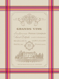 GRANDS VINS - Jacquard Tea Towel