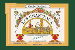Couly-Dutheil Les Chanteaux Chinon - Tea Towel