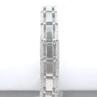 1 1/2 Carat Diamond Bracelet, in 18kt White Gold