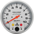 "Autometer Ultra-Lite 5"" Tachometer Single Range w/ Memory -ATM4494 - click for more info."