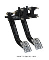 Wilwood Reverse Swing Mount Brake/Clutch Pedal Assembly - WIL340-13835