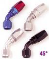 -4 X 45 Power Flow Hose End -FRG104504