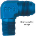90 Degree Adapter Fitting #6 X 1/4 MPT - Fragola 482206