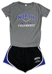 Practice Pack 1 shown with optional two color print on shirt