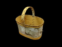 Birch Bark Berry Basket