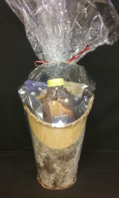 Gift Basket  - Medium Sage Basket