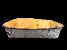 Large Birch Bark Winnowing Tray