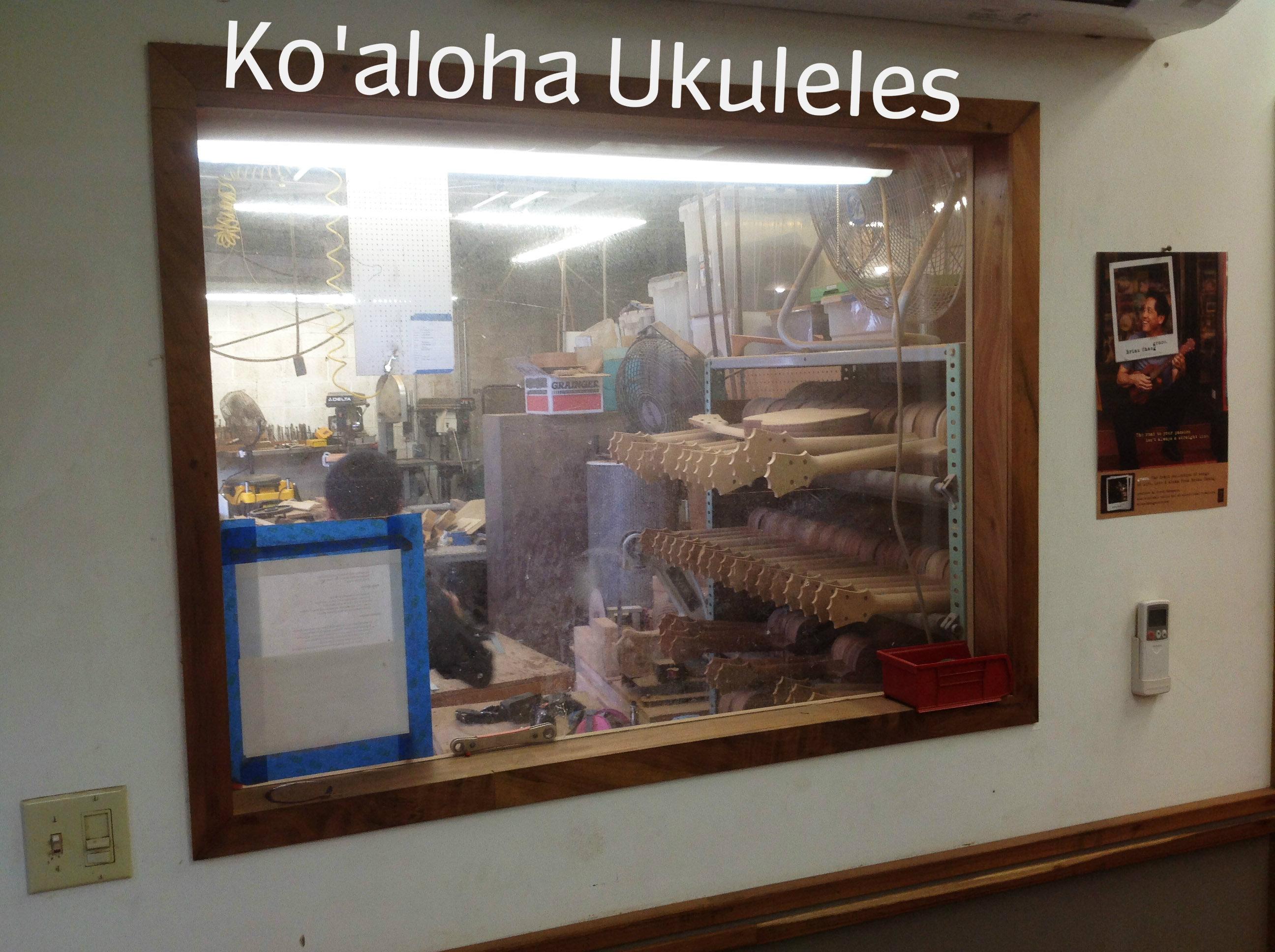Koaloha Ukulele shop tour