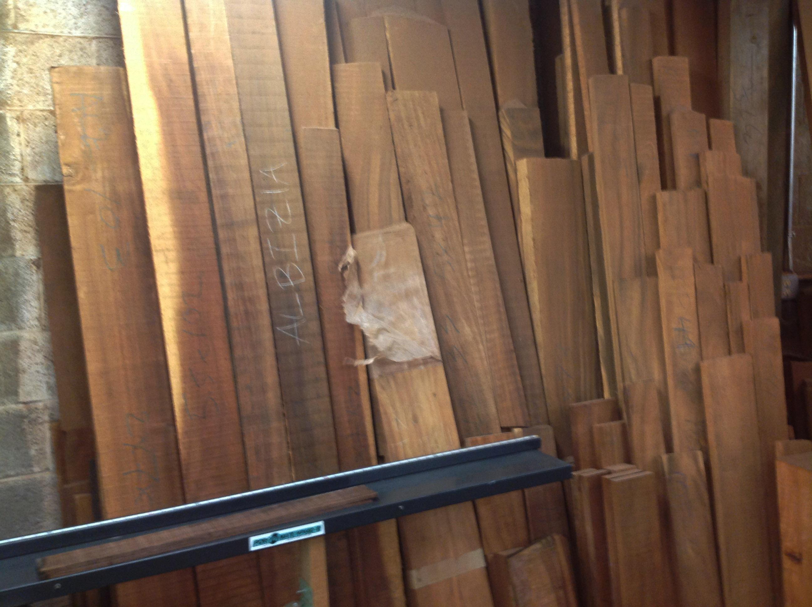 Raw Koa Ukulele boards