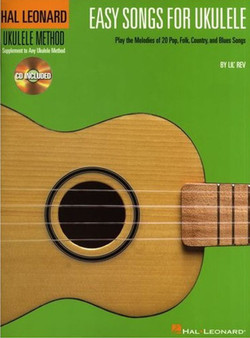 Easy Songs for Ukulele book w/CD