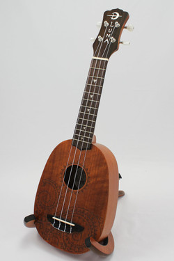 Luna Tattoo Pineapple Soprano Ukulele UKE TATTOO