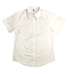 Girls white short-sleeved shirt