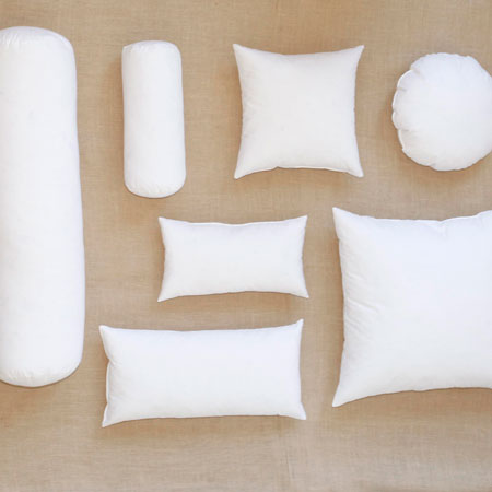 Pillow forms downlitebeddingwholesalecom for Best down pillow inserts