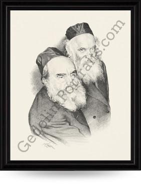 Rav Moshe Feinstein and Rav Aharon Kotler
