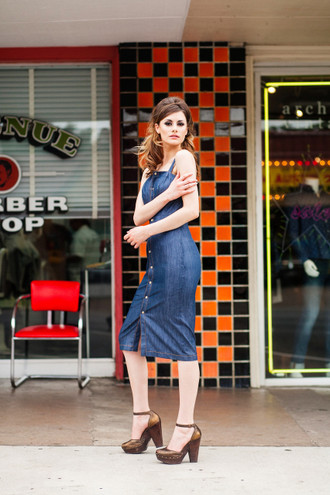 The Marseille Denim Dress