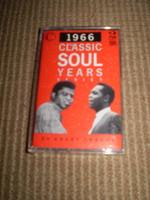 1966 Classic Soul Years cassette Tape,1960's Soul