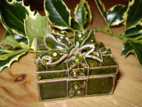 Gorgeous Crystal little Gift,Present Style Trinket Box