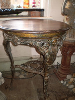 Gorgeous Early Victorian Cast iron Pub Table,1850 circa