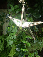 Beautiful Mirror star will reflect the lights on your Christmas tree.