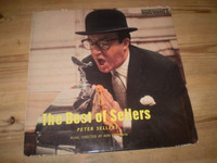 Peter Sellers very first LP in very nice condition.