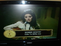 "Bobbie Gentry singing the classic ""Ode to Billie Joe"""