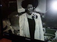 One of the great early film shots of Ella on this DVD