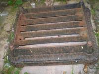 Victorian Country Estate Cast Iron Garden Boot Scraper,Stunning Quality