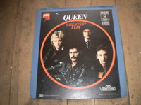 Rare Vintage Video Disc,Queen Greatest Flix
