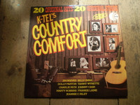 Country Comfort Compilation Vinyl LP Album,Various Artists,Near Mint