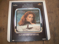 Rare Vintage Video Disc,French Lieutenants Woman,Meryl Streep