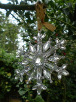 The Gorgeous Crystals Sparkle when they catch the light of your Christmas Tree Fairy Lights