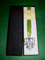 Gorgeous Christmas Crystal Angel Bookmark in Gift Box