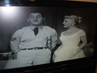 Danny Thomas and Peggy Lee in the Black & White version of the Film