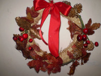 DANISH CHRISTMAS BEAUTIFULLY SCENTED CINNAMON & CLOVES WREATH DECORATION FOR YOUR HOME