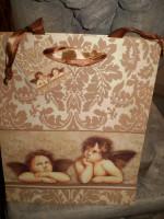 PRETTY  CHERUB GIFT BAG FOR SOMEONE SPECIAL