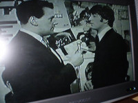 John Lennon of The Beatles speaking to compare Keith Forsyth