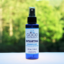 Good Body Products BREATHE Aromatic Mist with Eucalyptus & Peppermint