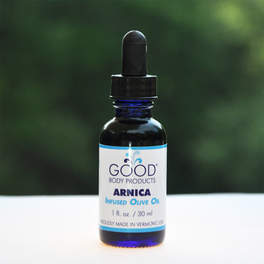 Good Body Products ARNICA-infused Olive Oil