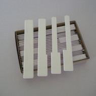 White Piano Keytops without fronts