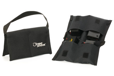 The custom soft-side carrying case protects your system when in transport or storage.