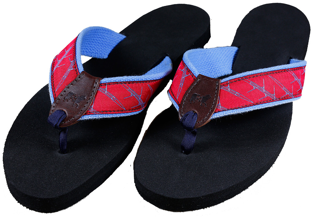 4d3bdb834e2e Straight Four Crew Shell Flip Flops - Belted Cow Company