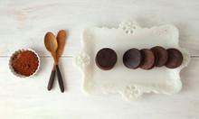 Chocolate Caramel Cookies w/ Chipotle Sea Salt - One Dozen