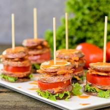 BLT Potato Salad Stacks - (Free Recipe Below)