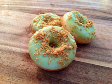 Key Lime Pie Mini Donuts - One Dozen